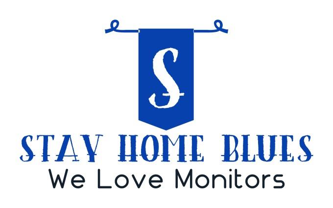 Stayhomeblues design logo
