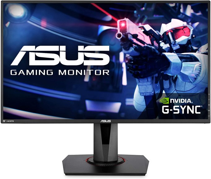 Computer Monitor-asus vg278qr 27 inch gaming monitor fhd 1080p ultra wide 0.5ms response time