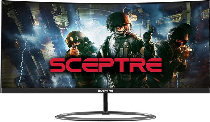 Computer Monitor- Sceptre Curved 30 inch LED 1ms Response Time