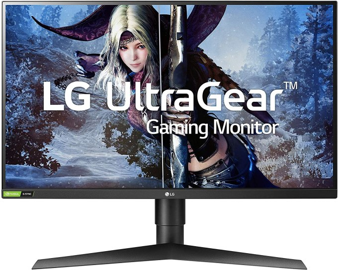 LG 27GL83A-B 27 Inch Ultragear QHD IPS Gaming Monitor
