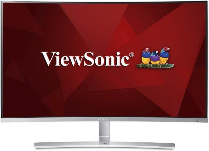 ViewSonic VX3216-SCMH-W 32 Inch Curved Monitor
